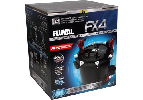 Fluval FX4 externe filter