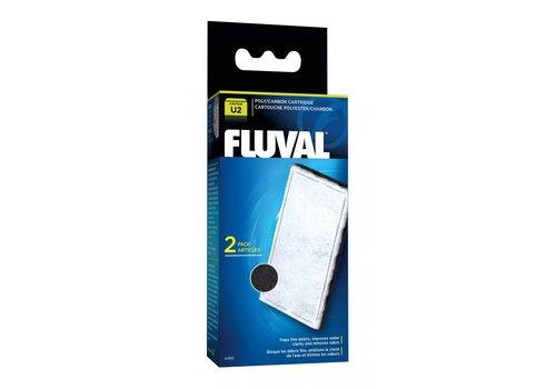 Fluval Actief koolfilter U2 2 stuks