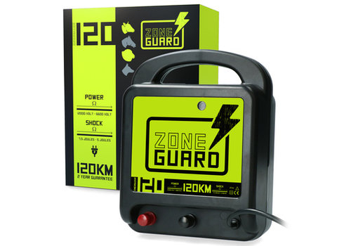 ZoneGuard Energizer Lichtnet 120 km