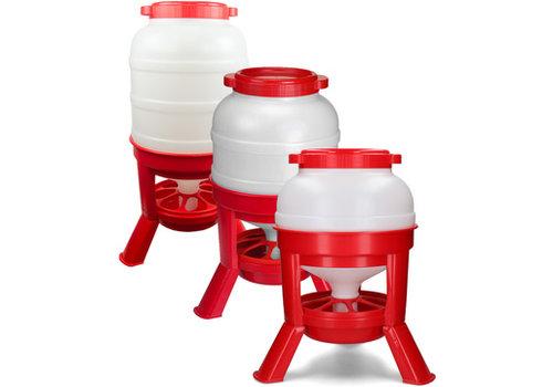 Gaun Voertoren 20 liter rood