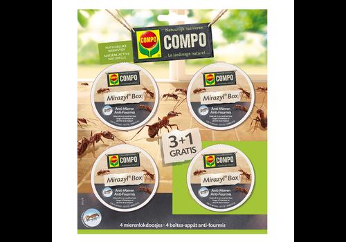 COMPO Voordeelverpakking Mirazyl Mierenlokdoos 4 stuks