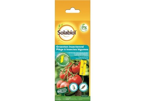 Solabiol Groenten insectenvallen 5 stuks