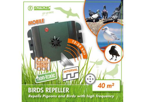 Isotronic Mobiele Vogelverjager