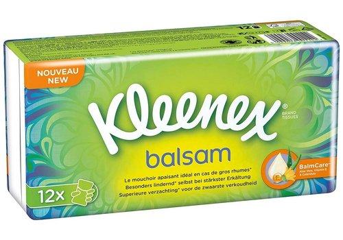 Kleenex Zakdoeken Balsam 12 pakjes