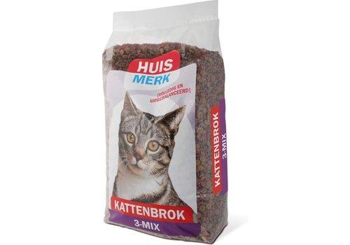 Kasper faunafood 3 mix  Kattenbrok 10 kg
