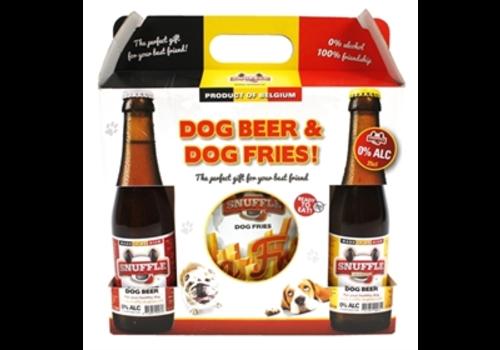 Snuffle Gift box hondenbier & patat