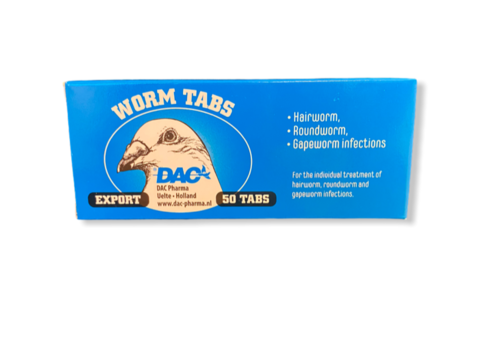 DAC Pharma Wormtabletten