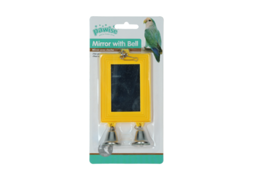 Pawise Bird mirror with bell