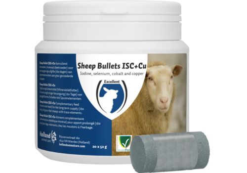 H.A.C. Sheep Bullet ISC + Cu voor Ooien