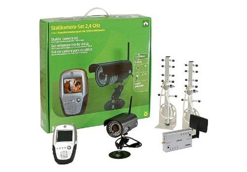 Kerbl Cameraset voor stal of aanhanger 2.4Ghz