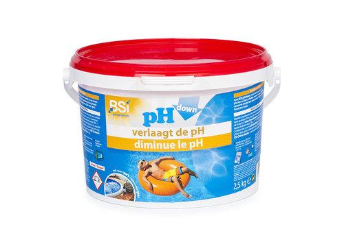 BSI pH-down 2,5KG poeder