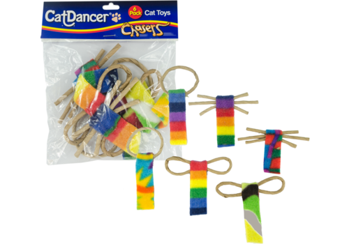 Cat Dancer Bow Tie Chaser 6 Pack