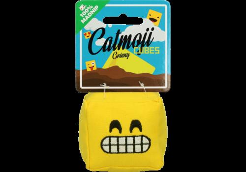 Catmoji Cat Cube Grinny met MadNip