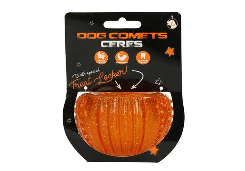 Dog Comets Ceres with Treat Locker Oranje