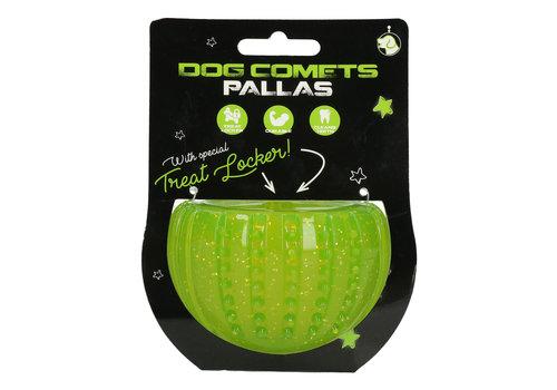 Dog Comets Pallas with Treat Locker Groen