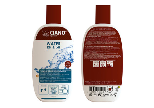 Ciano Water kh & ph 100ml