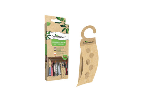 GreenProtect Hanging clothes moth trap