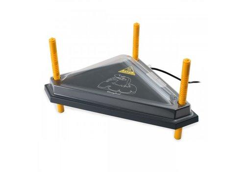 Comfort Afdekkap pet driehoek warmteplaat WP-40T