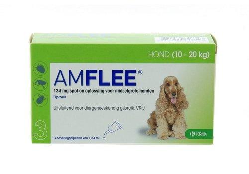 Amflee Hond medium 3x14mg 10-20kg