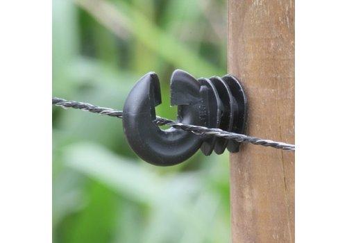 Koltec Zwart schrikdraad 200m 3,5mm