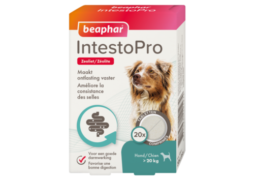 Beaphar IntestoPro tabletten hond vanaf 20 KG