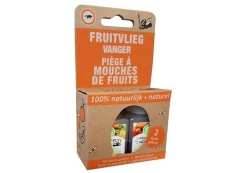 Super Ninja Fruitvliegvanger 2-pack