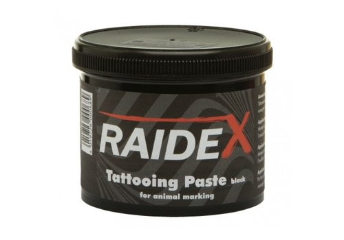 Raidex Tatoeëerpasta zwart 600 gram
