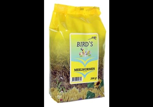 Birds Meelwormen gedroogd 200 gram