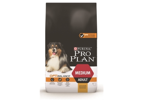 Purina Pro Plan Adult Medium Kip/Rijst 14 kg