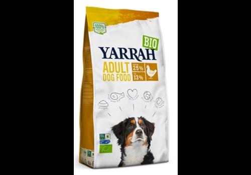 Yarrah Biologische brokken kip 10 kg