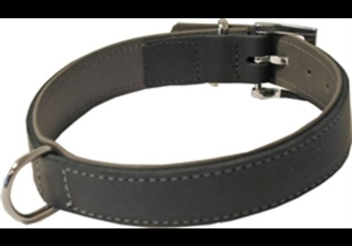 JUNAI Hondenhalsband Soft gevoerd Zwart / Grijs