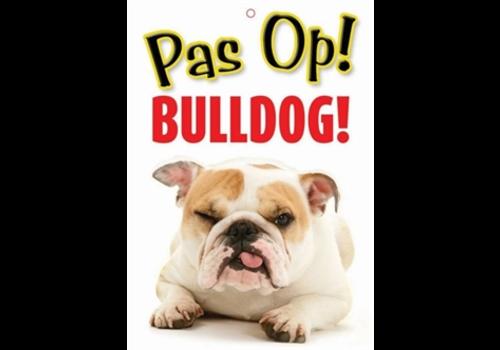 Plenty Gifts Waakbord PAS OP Bulldog