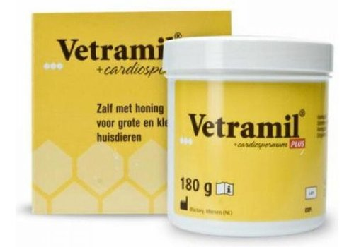 Vetramil honingzalf pot 180 gram