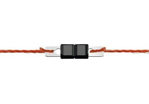 JUNAI Draadverbinder rvs 3 mm Litzclip per 10