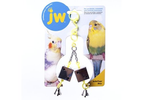 JW Vogelspeeltje met dobbelstenen