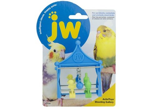 JW Speelgoed schietkraampje voor parkieten