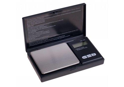 JUNAI Digitale pocketweegschaal max. gewicht 100 gram