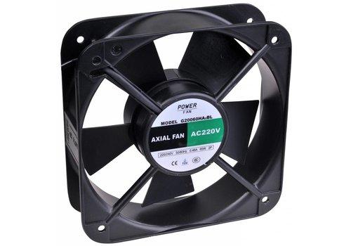 Powerfan Ventilator 200x200x60 mm met kogellagers