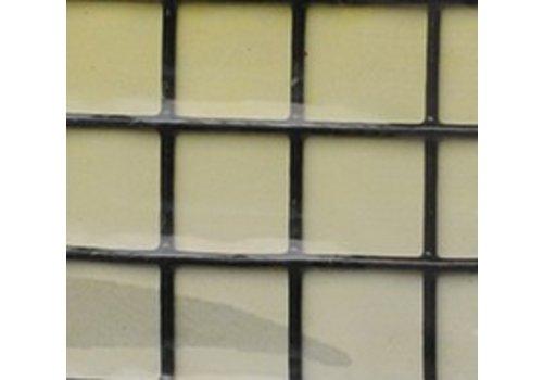 Avinet 13x13x1.2 mm, rol 1.00x25 meter ZWART