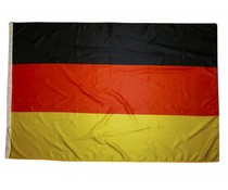 Country Flags in the national colors of black, red and yellow (size 150 x 100 cm)
