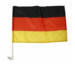 Car window flags in the national colors buy black, red and yellow?