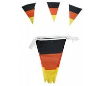 Linien in den Farben der nationalen Flagge von schwarz, rot und gelb (6,5 m lang)