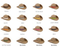 Straw hats (adult size)