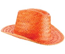 Straw Hats (orange, red, blue, khaki, black or khaiki in an adult size uni