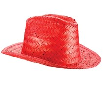 Straw Hats (orange, red, blue, khaki, black or khaiki in an adult size uni