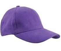 Baseball-Caps in der Farbe Lila (Erwachsenengröße)