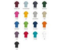 T-shirts in extra grote maten zoals 5XL en 7XL (100% katoen met korte mouw en ronde hals)