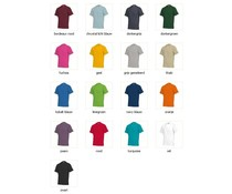 T-shirts in extra large sizes like 5XL and 7XL (100% cotton with short sleeves and round neck)