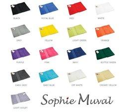 Badstof sportsjaals in een mooie kwaliteit (afmeting 30 x 130 cm)