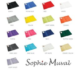 Terry sport scarves in a nice quality (size 30 x 130 cm)